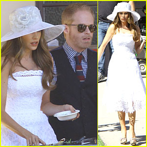 Sofia Vergara: 'Modern Family' Cookie Break!