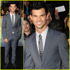 Taylor Lautner: 'Twilight Breaking Dawn Part 2' Premiere!