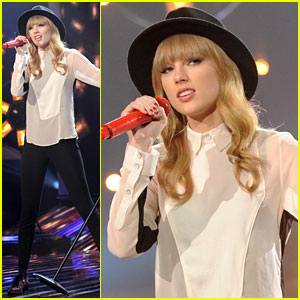 Taylor Swift Hangs with Harry Styles at 'X Factor' Rehearsals!