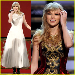 Taylor Swift: 'I Knew You Were Trouble' at AMAs - Watch Now!