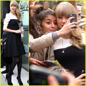 Taylor Swift: NRJ Radio Studios Promo Stop