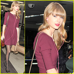 Taylor Swift: We're Off to Australia!