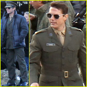 Tom Cruise: Military Attire for 'All You Need Is Kill'!