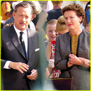Tom Hanks as Walt Disney in 'Saving Mr. Banks' - First Look!