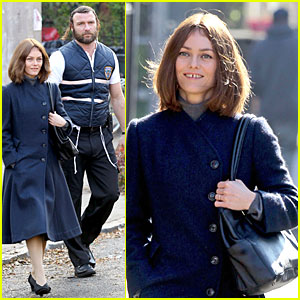 Vanessa Paradis &#038; Liev Schreiber: 'Fading Gigolo' Set!