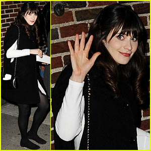 Zooey Deschanel Talks Katy Perry Look-Alike Incidents on 'Letterman'