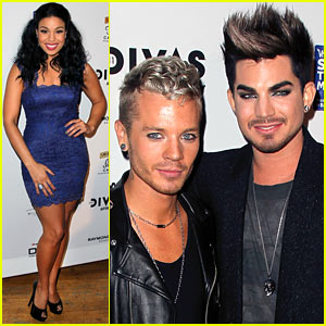 Adam Lambert & Jordin Sparks: VH1 Divas After Party!