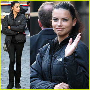 Adriana Lima Dropping Baby Weight For VS Fashion Show Was Challenging