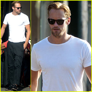 Alexander Skarsgard: Little Dom's Lunch!