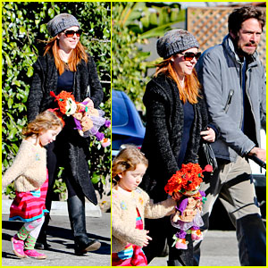 Alyson Hannigan: Family Outing with Alexis Denisof!