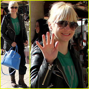 Anna Faris Reveals Her Baby Weight Loss Solution
