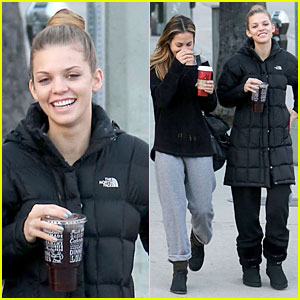 AnnaLynne McCord Recieves a Christmas Gift Full of Meaning!