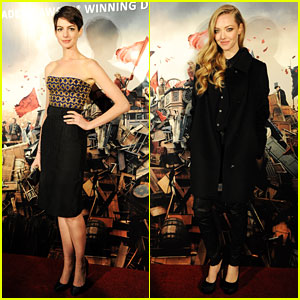 Anne Hathaway & Amanda Seyfried: 'Les Miserables' Premiere After Party!