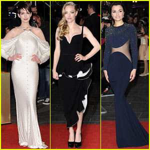 Anne Hathaway & Amanda Seyfried: 'Les Miserables' World Premiere!