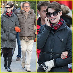 Anne Hathaway: Duet with Madonna for New Year's Eve Party?