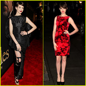 Anne Hathaway: 'Les Miserables' New York Premiere!