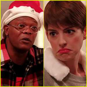 Anne Hathaway & Samuel L. Jackson: Sad Off for Funny or Die!