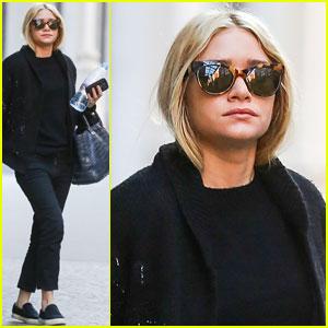 Ashley Olsen: Saturday Stroll in NYC!