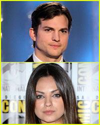 Ashton Kutcher & Mila Kunis: Holidays in Iowa!