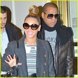 Beyonce & Jay-Z: Christmas Eve Holiday Shopping!