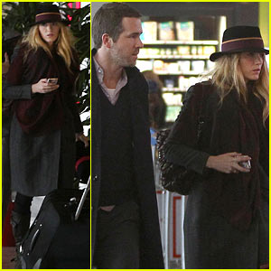 Blake Lively & Ryan Reynolds: Charles de Gaulle Couple!