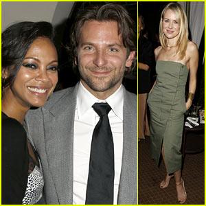 Bradley Cooper & Zoe Saldana: 'Silver Linings Playbook' Special Event!