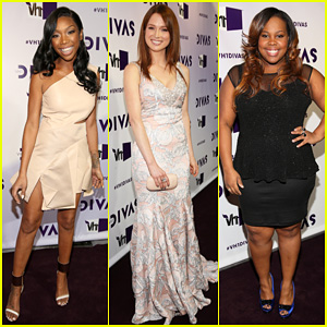 Brandy & Ellie Kemper - VH1 Divas 2012 Red Carpet!