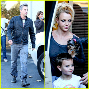 Britney Spears & Jason Trawick: Dance Studio with the Boys!
