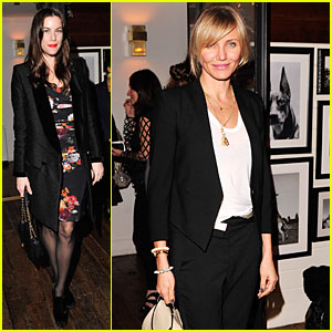 Cameron Diaz & Liv Tyler: 'Django Unchained' Screening After Party!