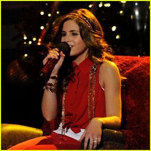 Carly Rose Sonenclar: 'All I Want For Christmas Is You' on 'X Factor'