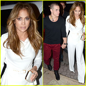 Casper Smart Thanks Jennifer Lopez for Being Inspirational!