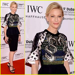 Cate Blanchett: Filmmaker Award Gala Dinner in Dubai!