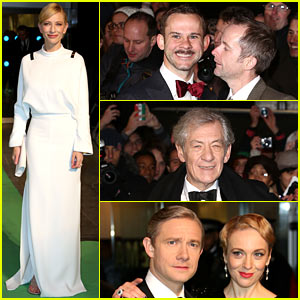 Cate Blanchett: 'The Hobbit' London Premiere!