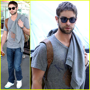 Chace Crawford Heads to Australia for New Year's!