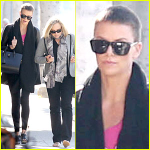 Charlize Theron Pampers Mother Gerda!