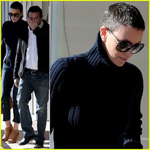 Charlize Theron: West Hollywood Lunch with Pals!