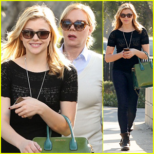 Chloe Moretz: My Phone Died in the Hot Tub!