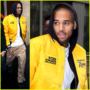 Chris Brown: Grammy Nominee for 'Fortune'!