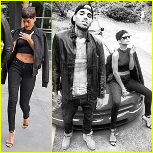 Chris Brown & Rihanna: Christmas Thug Life!