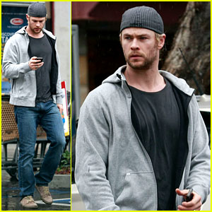 Chris Hemsworth: Car Trouble on New Year's Eve