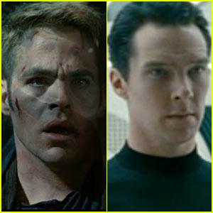Chris Pine & Benedict Cumberbatch: 'Star Trek Into Darkness' Trailer!