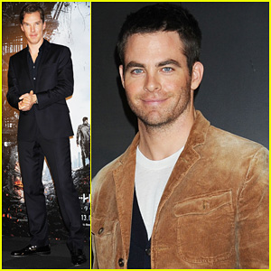 Chris Pine: 'Star Trek Into Darkness' Special Presentation!