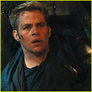 Chris Pine: 'Star Trek Into Darkness' Teaser Trailer - Watch Now!