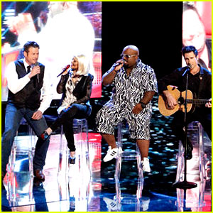 Christina Aguilera & Adam Levine: 'The Voice' Coaches Sing Green Day for Finale!