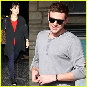 Cory Monteith & Jenna Ushkowitz: 'Glee' Cast Snags SAG Nomination!