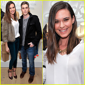 Dave Annable: Lucky Brand Store Opening with Wife Odette!