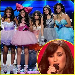 Demi Lovato & Fifth Harmony: 'X Factor' Finale Performance!