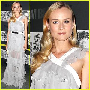 Diane Kruger: Quentin Tarantino MoMA Benefit!