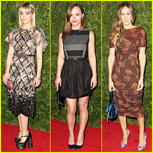 Dianna Agron & Sarah Jessica Parker: 'In Vogue: The Editor's Eye' Screening