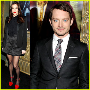 Elijah Wood & Liv Tyler: 'The Hobbit' New York Premiere!